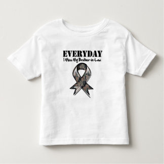 Brother-in-Law - Everyday I Miss My Hero Military Tshirts