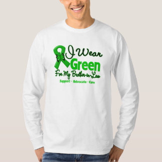 Brother-in-Law - Green  Awareness Ribbon T-Shirt