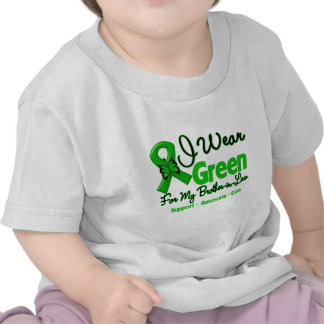 Brother-in-Law - Green  Awareness Ribbon Tee Shirt