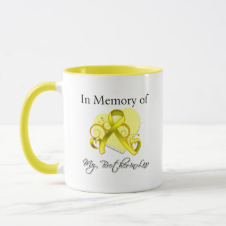 Brother-in-Law - In Memory of Military Tribute Mug