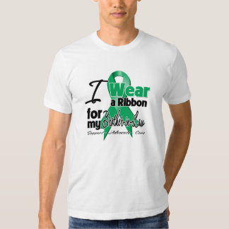 Brother-in-Law - Liver Cancer Ribbon.png T-shirt