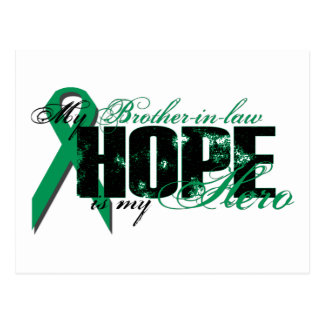 Brother-in-law My Hero - Kidney Cancer Hope Postcard