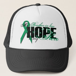 Brother-in-law My Hero - Kidney Cancer Hope Trucker Hat