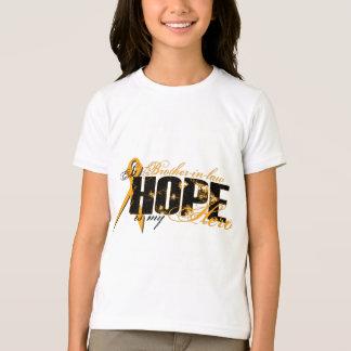Brother-in-law My Hero - Leukemia Hope T-Shirt