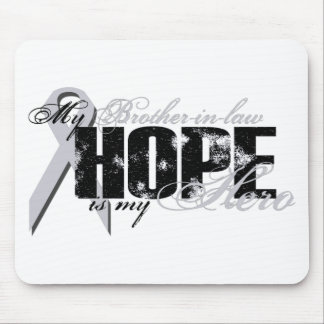 Brother-in-law My Hero - Lung Hope Mouse Pad
