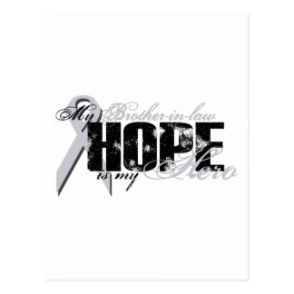 Brother-in-law My Hero - Lung Hope Postcard