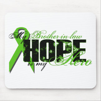 Brother-in-law My Hero - Lymphoma Hope Mouse Pad