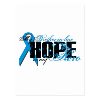 Brother-in-law My Hero - Prostate Hope Postcard