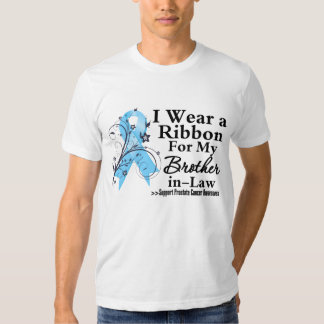 Brother-in-Law Prostate Cancer Ribbon T Shirt