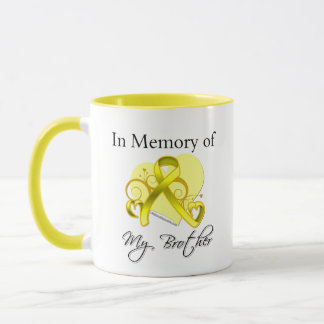 Brother - In Memory of Military Tribute Mug
