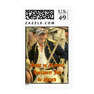 Brother Jim the Pirate Stamps