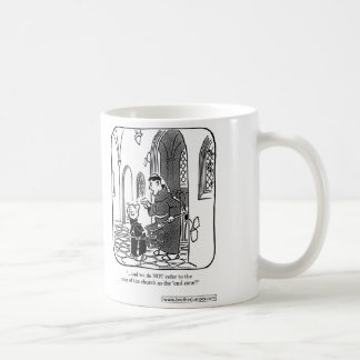 Brother Juniper - Do NOT refer to it as 'end zone' Coffee Mug