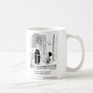 Brother Juniper - No Gun Totin' Allowed, Partner Coffee Mug