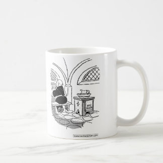 Brother Juniper - Ritz Plaza towel Coffee Mug