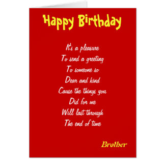Brother kindness birthday cards