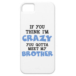 Brother loco iPhone 5 carcasas