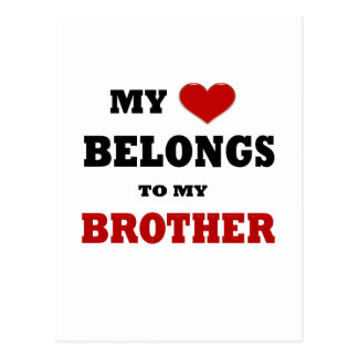 Brother Love Postcard