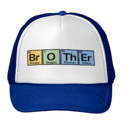 Trucker Hat with Brother made of Elements design