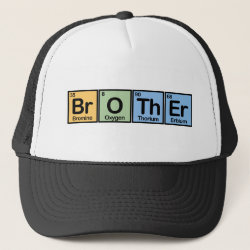 Trucker Hat with Brother design