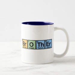 Two-Tone Mug with Brother design