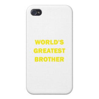 BROTHER MÁS GRANDE DEL MUNDO iPhone 4/4S FUNDA