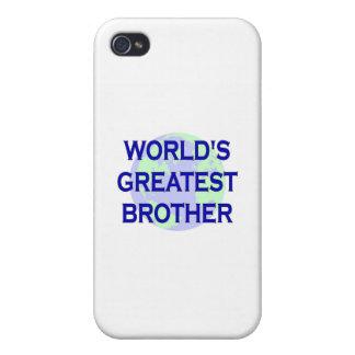 Brother más grande del mundo iPhone 4 cárcasas