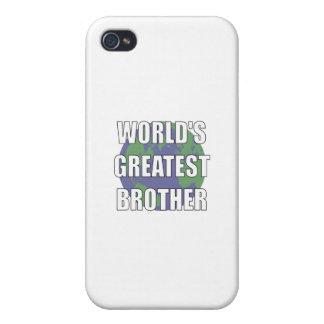 Brother más grande del mundo iPhone 4/4S carcasa