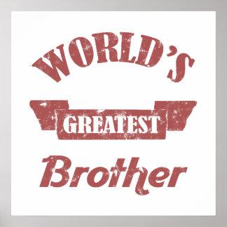 Brother más grande del mundo poster