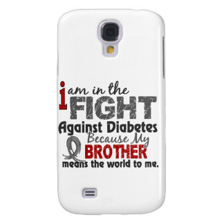 Brother Means World To Me Diabetes Samsung Galaxy S4 Cases