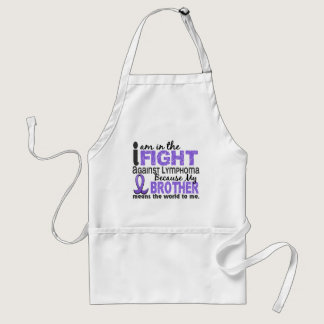 Brother Means World To Me H Lymphoma Adult Apron