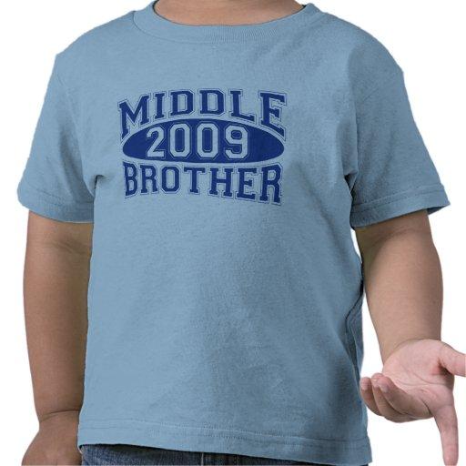BROTHER MEDIO 2009 (azul) Camiseta