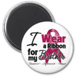 Brother - Multiple Myeloma Ribbon 2 Inch Round Magnet