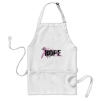 Brother My Hero - Breast Cancer Hope Adult Apron