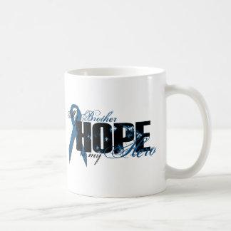 Brother My Hero - Colon Cancer Hope Coffee Mug