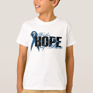 Brother My Hero - Colon Cancer Hope T-Shirt