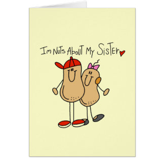 Brother-Nuts About My Sister Card