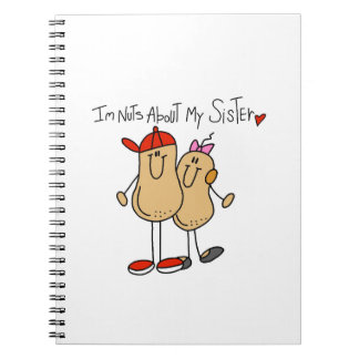 Brother-Nuts About My Sister Notebooks