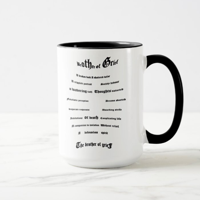 Brother of Grief Mug