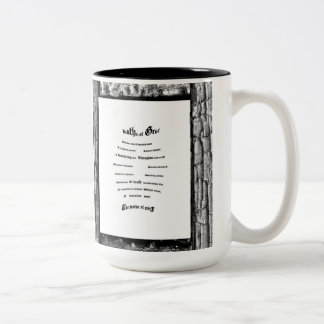 Brother of Grief Two-Tone Coffee Mug