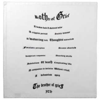 Brother of Grief Napkin