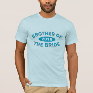 Brother of the Bride Blue Arc 2010 T-Shirt