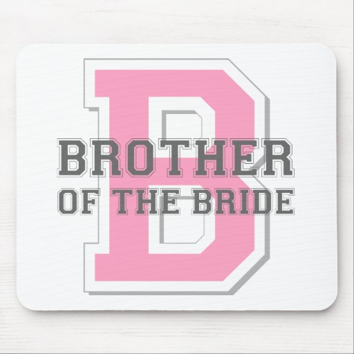 Brother of the Bride Cheer Mouse Mats