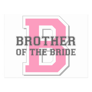 Brother of the Bride Cheer Postcard