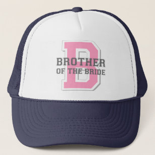 Brother Of The Bride Cheer Trucker Hat