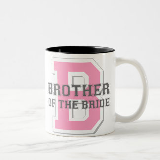 Brother of the Bride Cheer Two-Tone Coffee Mug