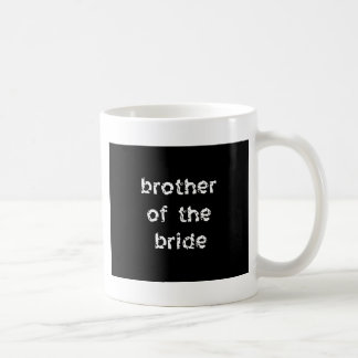 Brother of the Bride Classic White Coffee Mug