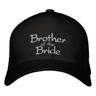 Brother of the Bride Embroidered Cap