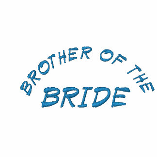 BROTHER OF THE, BRIDE EMBROIDERED HOODED SWEATSHIRT