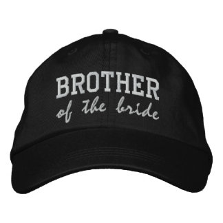 Brother of the Bride / Groom Embroidered Baseball Caps