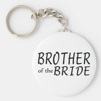 Brother Of The Bride Keychain